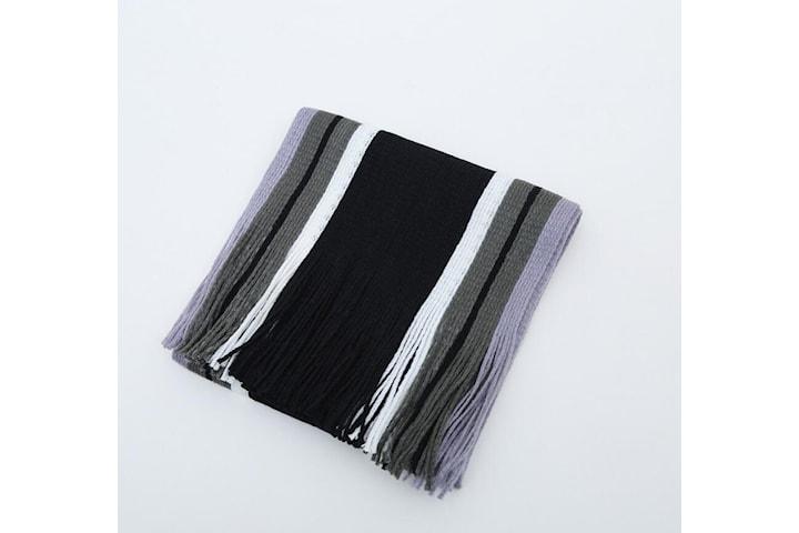 Stripe skjerf - 4 farger