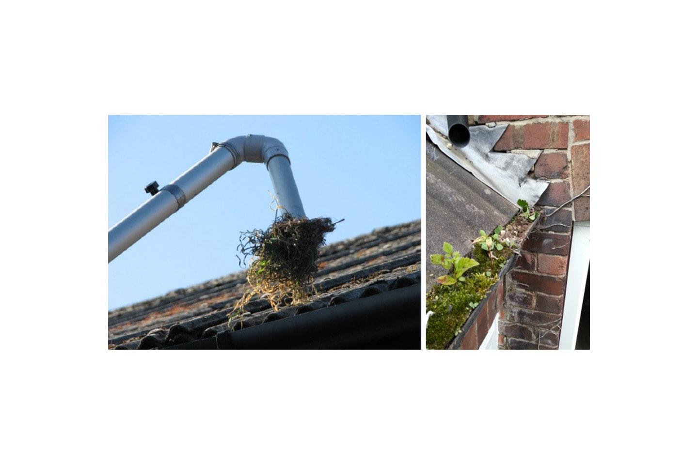 Gjør boligen klar for vinteren med vask takrenner fra Bergen Vaktmester As