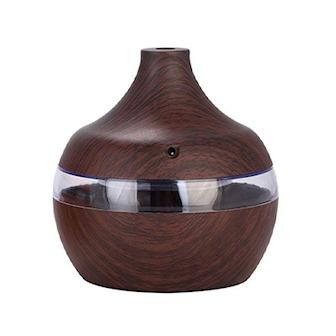 Brun, LED Humidifier, LED-luftfuktare, ,