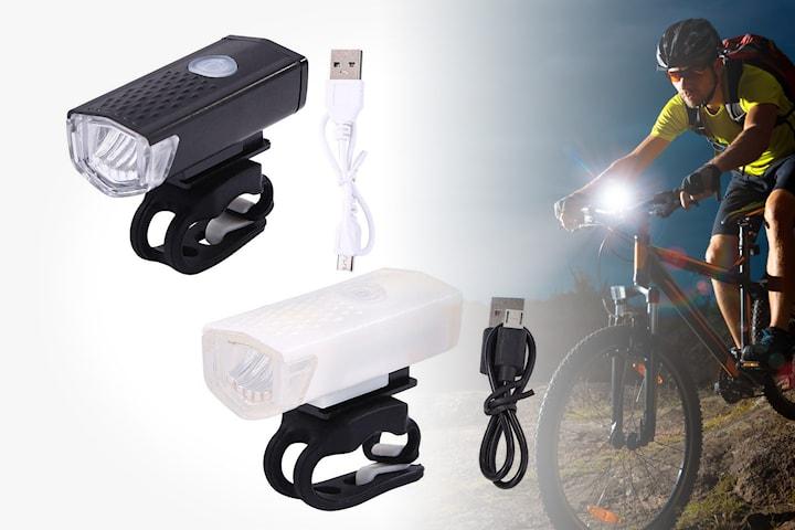 Cykellampa med USB