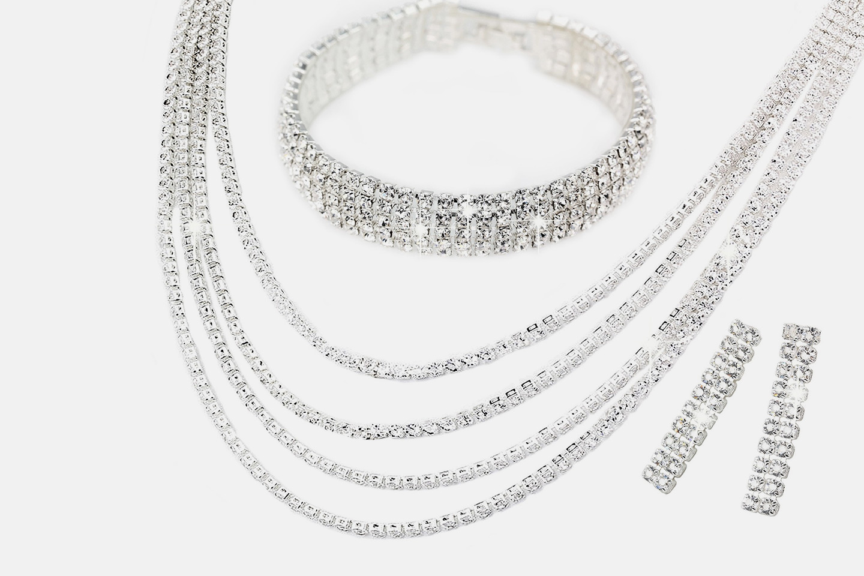 Ivy smykkesett med Swarovski-krystaller (1 av 1)