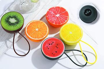Trådløs Bluetooth høyttaler i fruktdesign