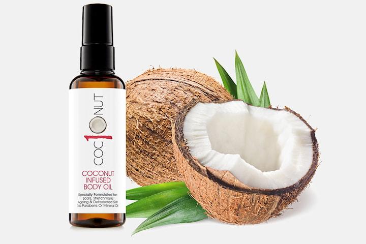 Coconut body oil 100 ml