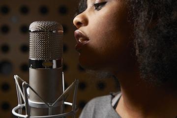 Sånglektioner av professionell sångpedagog