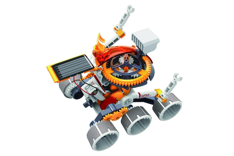 DIY solcellsdriven robot