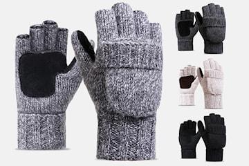 Multifunksjonelle flip-hansker