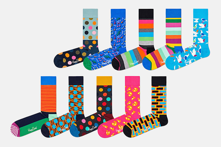 Happy Socks strumpor 10-pack