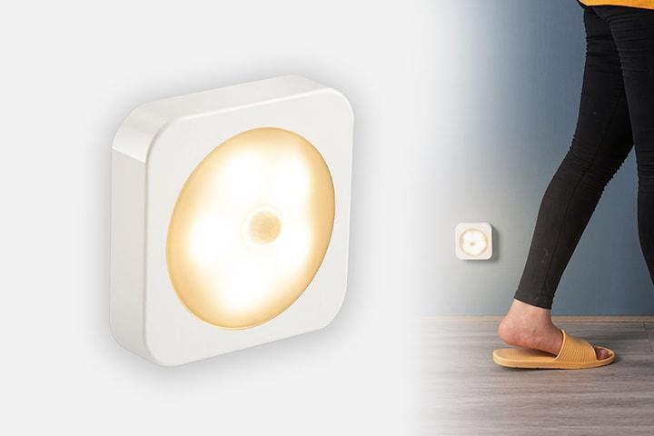 Trådløst lys med bevegelsessensor