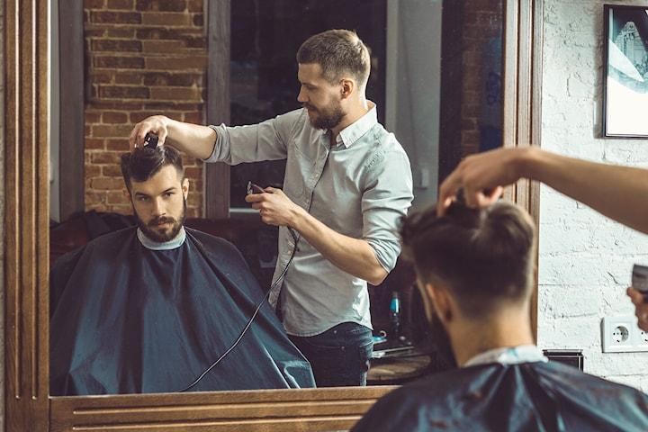 Herreklipp og skjeggklipp hos  Hair Masters sentralt på Sagene