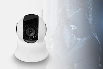 Övervakningskamera med Wifi och larmnotiser
