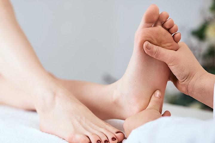 Fotvård inkl. massage hos A. Kroppsharmonie