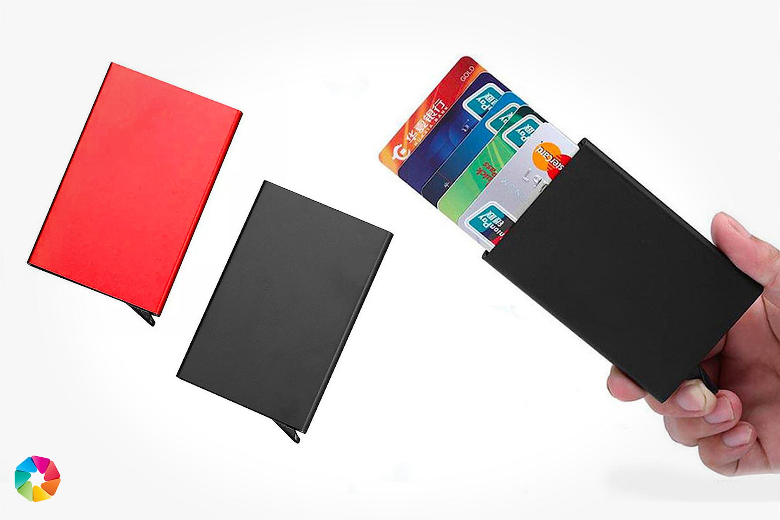 Korthållare med RFID-skydd