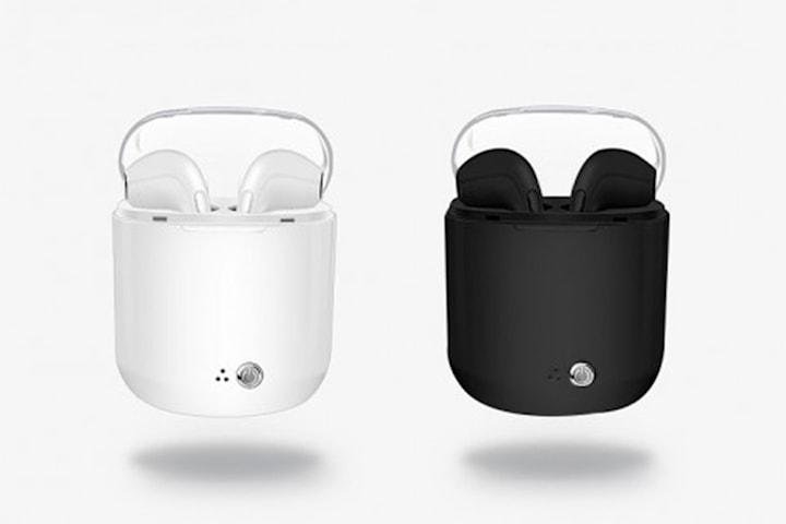 Neste generasjons Apple-kompatible trådløse in-ear hodetelefoner med ladeboks
