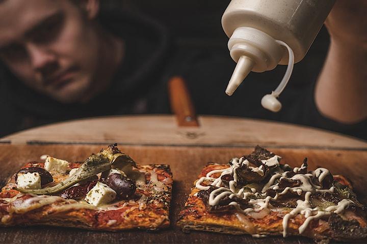 Pizza på Good2Go T-Centralen, Fridhemsplan eller Hornstull