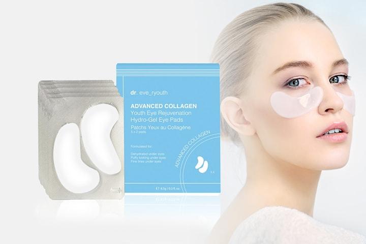 Hydro-gel øyemaske