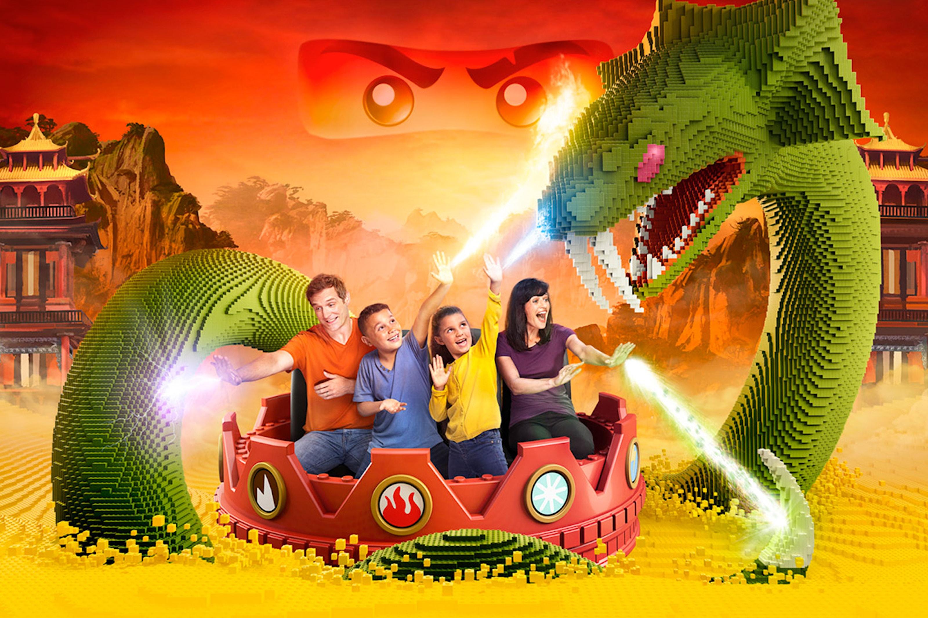50% rabatt för hela familjen på Legoland