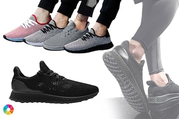 Luftiga sneakers i herrmodell