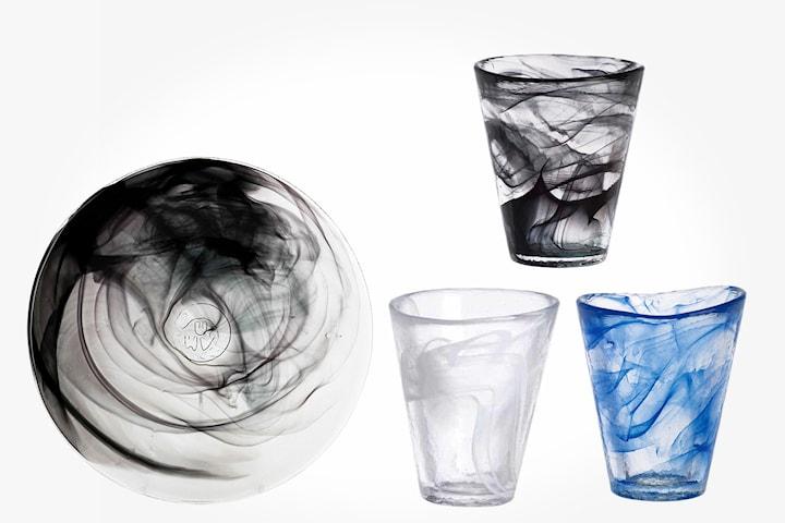 Orrefors Mine glas eller tallrikar 6-pack