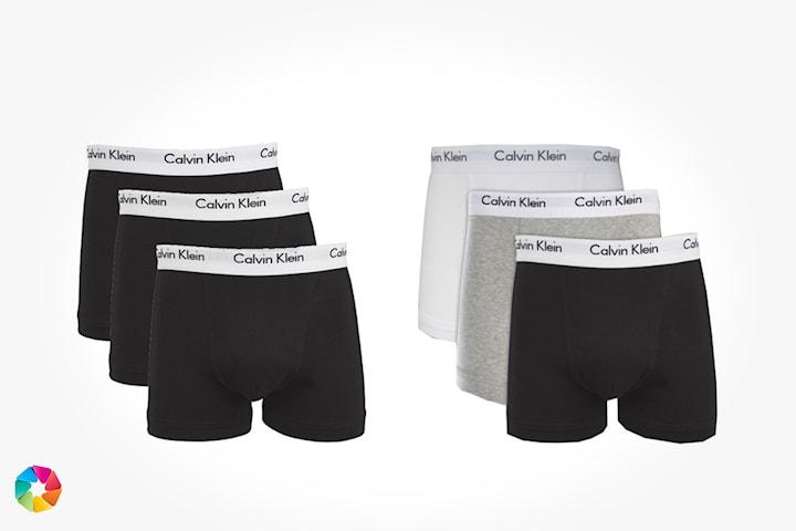 3-pack boxers från Calvin Klein