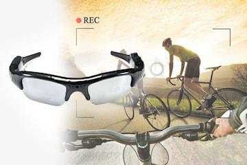 Solbriller med HD-kamera