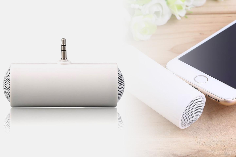 Mini høyttaler med 3,5 mm plug, 1, 2 eller 4-pack (1 av 7)