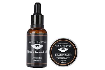Kit med Beard Oil 30ml og Beard Balm 30g