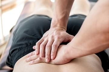 To osteopatibehandlinger inkludert konsultasjon på Ensjø