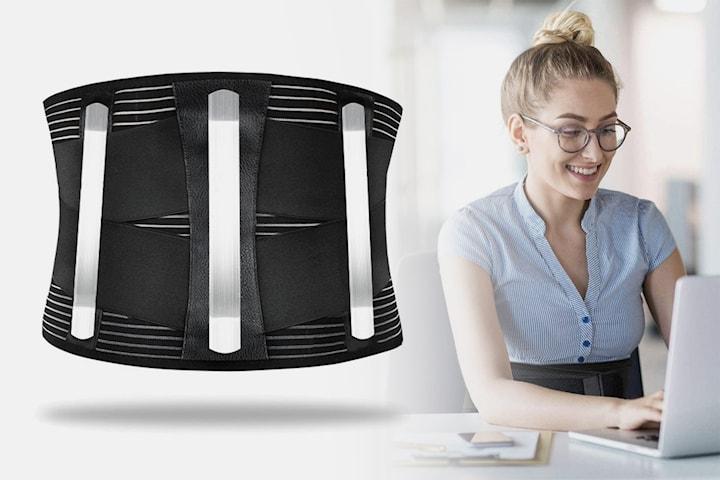 Kompresjonsbelte for rygg