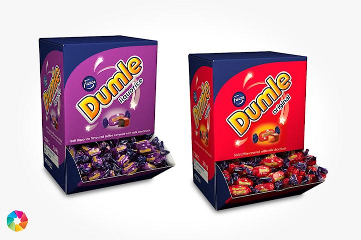 Dumle Original eller Dumle Lakrits från Fazer, 3 kg