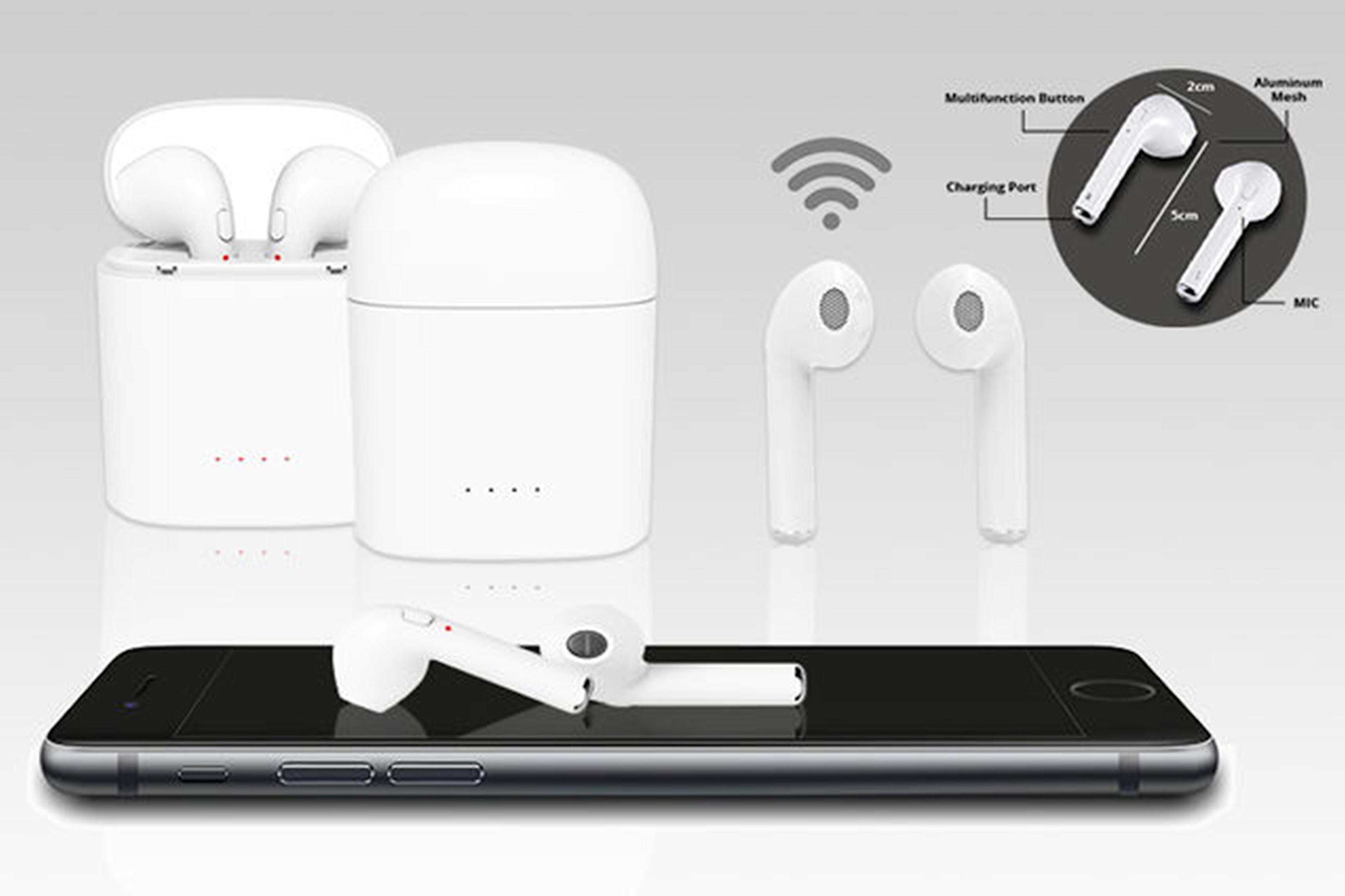 Apple-kompatible ørepropper med ladetui