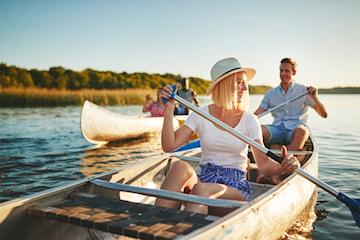 Hyr kanot i Stensjön och Rådasjön