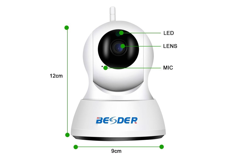 Trådlös IP-kamera