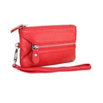 Äppelröd, Genuine Multi Wallet, Multiplånbok i äkta läder, ,
