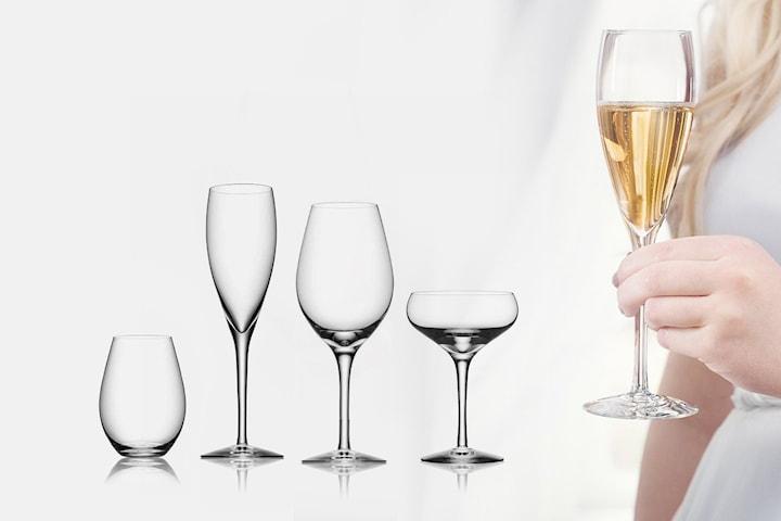 Orrefors More glas i 2-pack