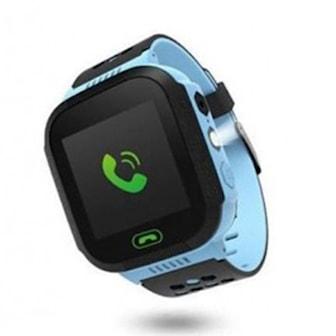 Blå, CHILD'S TRACKER GPS, Spårarklocka för barn, ,