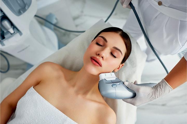Stram og løft huden uten kirurgi med Hifu - valgfritt område