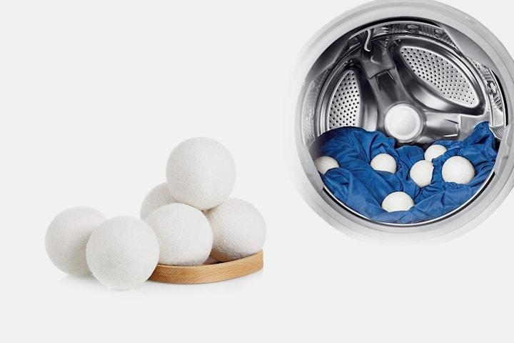 Tørkeballer i ull til tørketrommel 3-pack