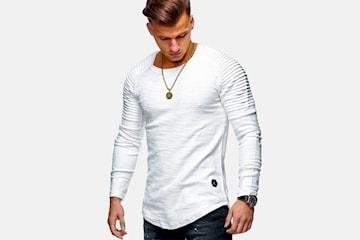 Långärmad tröja herr