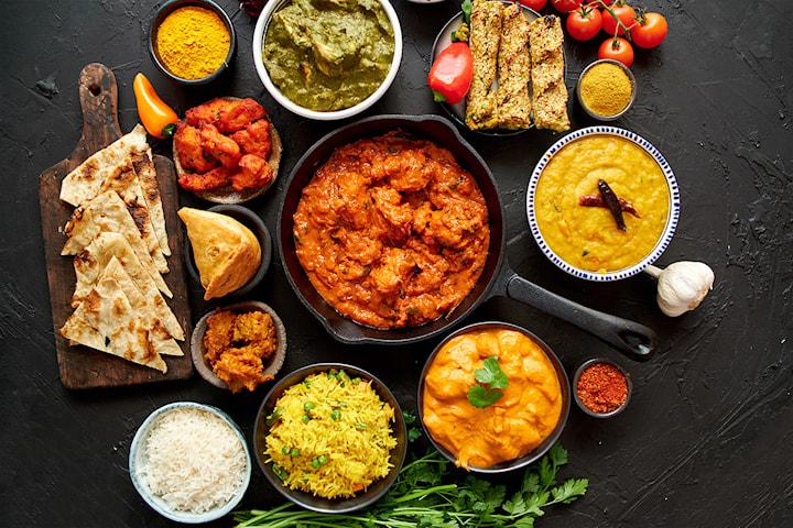 8-retters indisk catering fra 10 - 200 personer