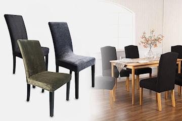 Elastisk overtrekk til stol