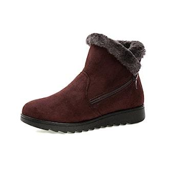 Brun, 36, Cosy Winter Boots, Fodrade vinterskor, ,