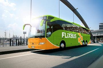 FlixBus: Res till valfri destination inom Sverige Norge och Danmark