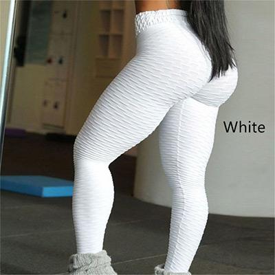 Vit, XXL, Breathable Sweat-absorbent Sports Leggings, Yogatights,  (1 av 1)
