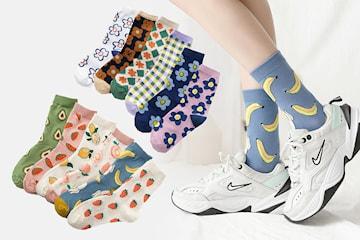 Søte sokker 3- eller 6-pack