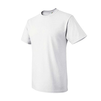 Vit, XL, Fruit of Loom 6-pack T-Shirt, 6-pack t-shirts från Fruit of the Loom, ,