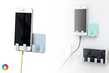 Vägghållare för mobilen