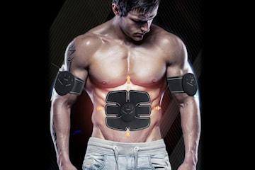 Muskelstimulator för mage och armar