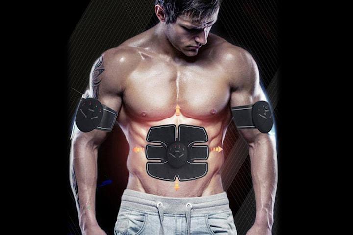 Muskelstimulator til mage og armer