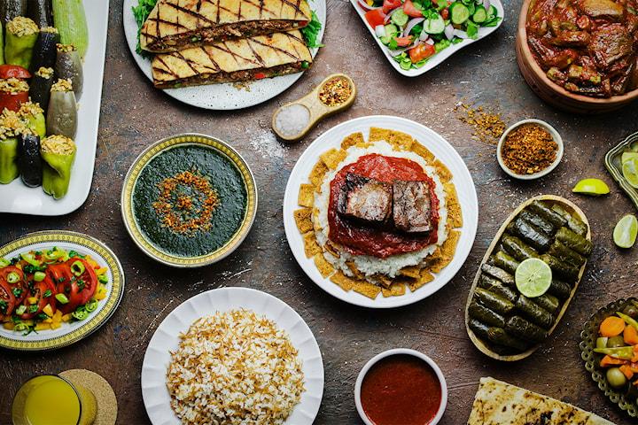 Orientalisk lunch hos Mashallah