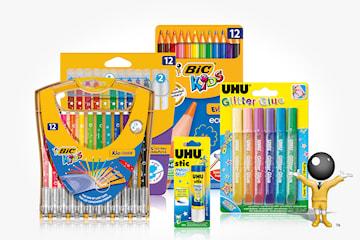 BIC färgläggnings-kit för barn